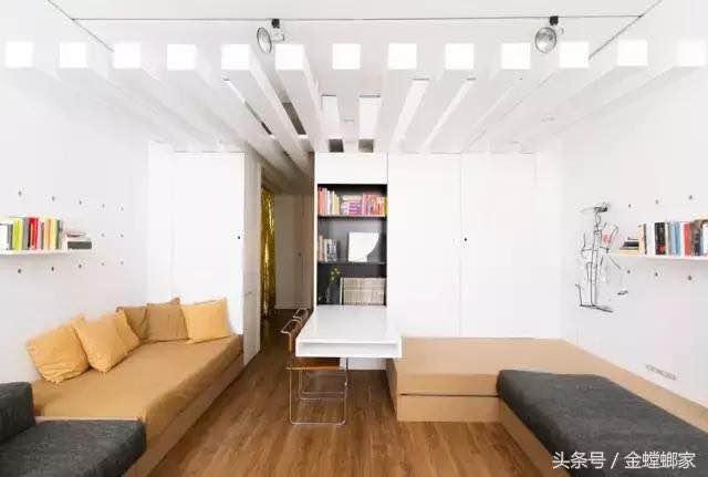 客厅沙发这样放释放了大一倍的空间,找不到更美更实用的啦!