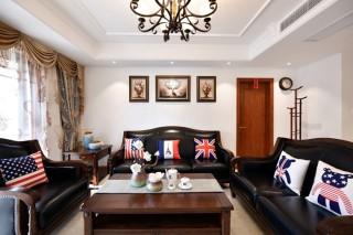 我的145㎡美式二套房,当然要装成我最爱的样子-弘阳尊邸小区145平米三居美式装修案例