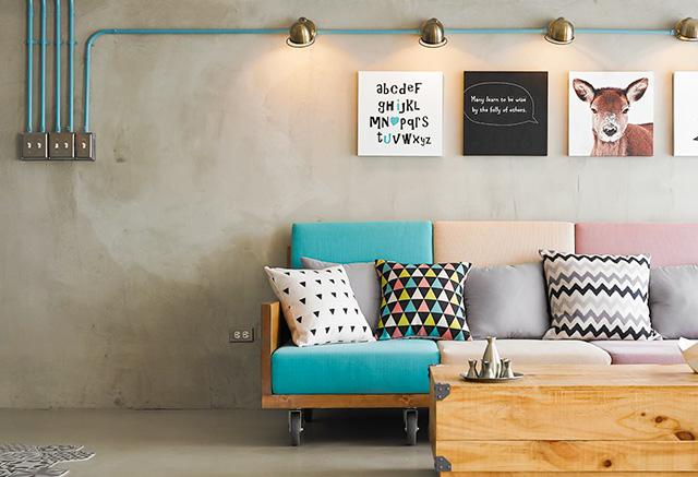 客厅沙发搭配技巧,5招出品味!