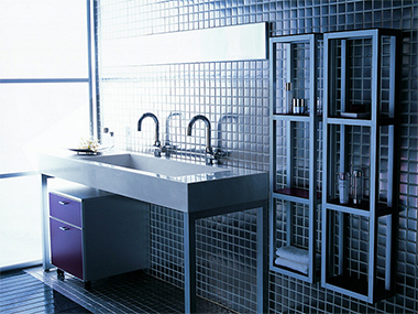 原来还能用马赛克装饰卫浴间,只想把我家拆了重装!