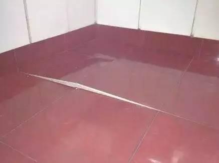 瓷砖不留缝,后果很严重