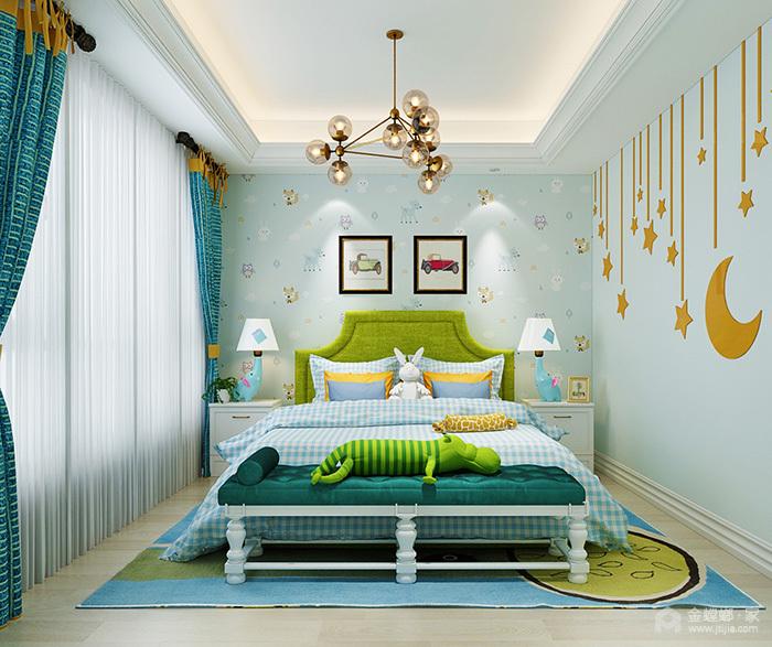 墙纸空间、色彩搭配技巧