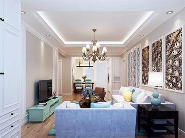 100㎡欧式风格家不只是奢华大气,舒适、一个都不会少!