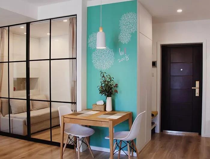 75平米两居搭出时尚现代风~你家客厅就该这样转!