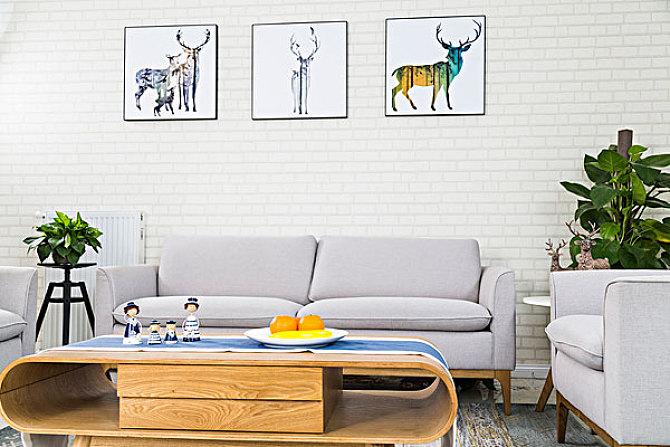 八款簡約舒適的客廳設計