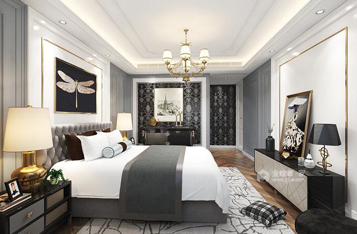 华美而精致的三口之家-卧室