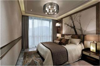 180平新中式四室,全屋原木装修,非常有档次-景和山庄小区180平米4室新中式装修案例