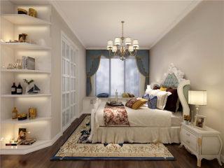 124平米欧式四室,完美演绎理想生活-盛世华都小区124平米4室欧式装修案例