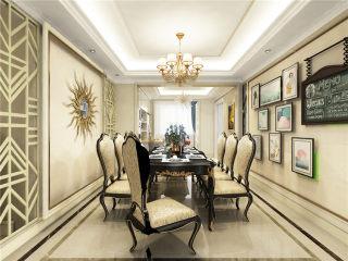 220平四室,浅色欧式装修太迷人-大公馆小区220平米4室欧式装修案例
