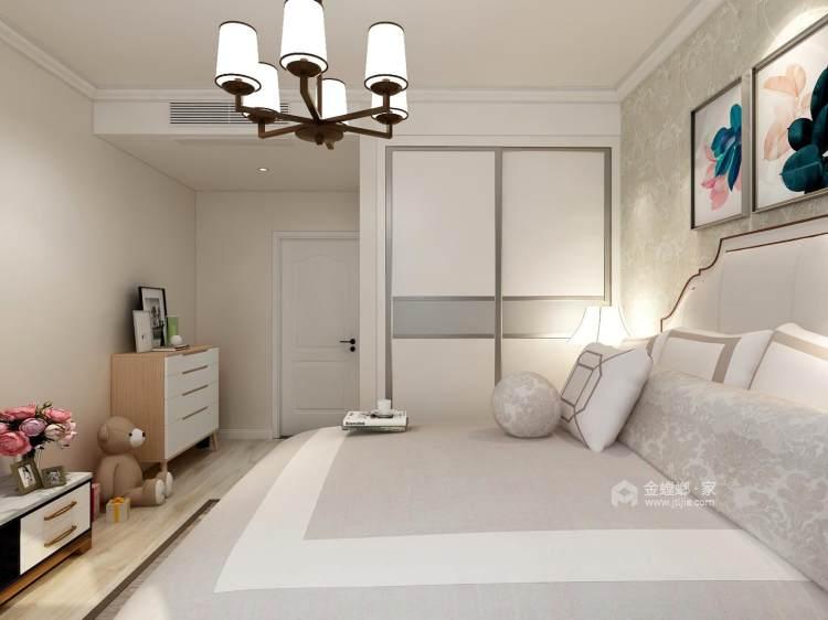 典雅大气的欧式风婚房-卧室效果图及设计说明