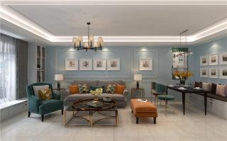 功能和实用兼具的85㎡小户型美式-阅海新华联小区85平米2室美式装修案例
