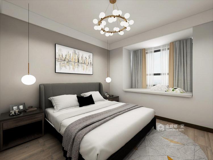 120平现代混搭之美-卧室效果图及设计说明