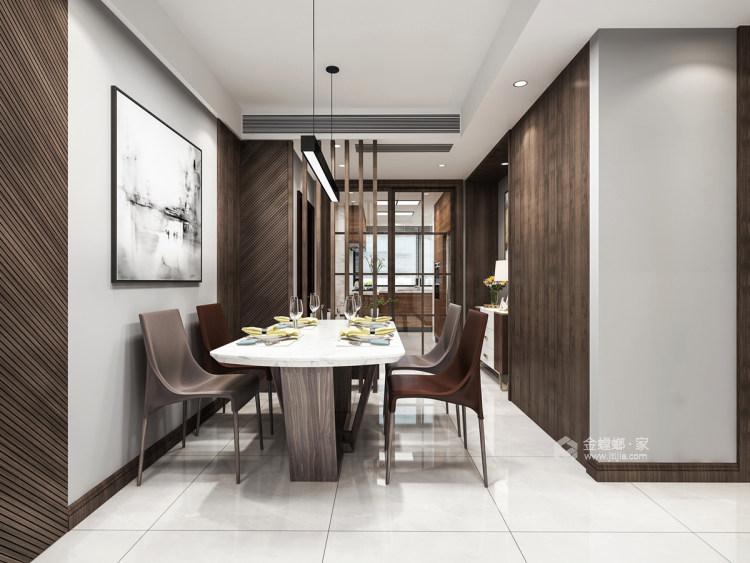 120平现代混搭之美-餐厅效果图及设计说明