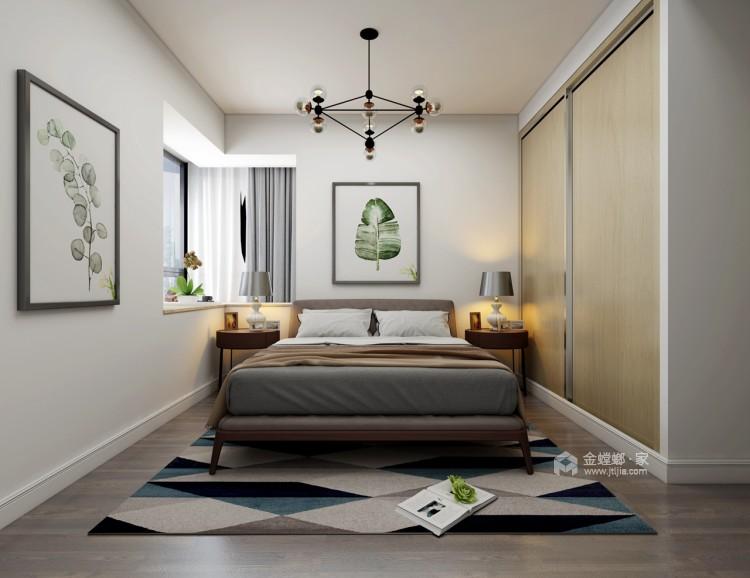 这一抹惊艳的黄色-卧室效果图及设计说明