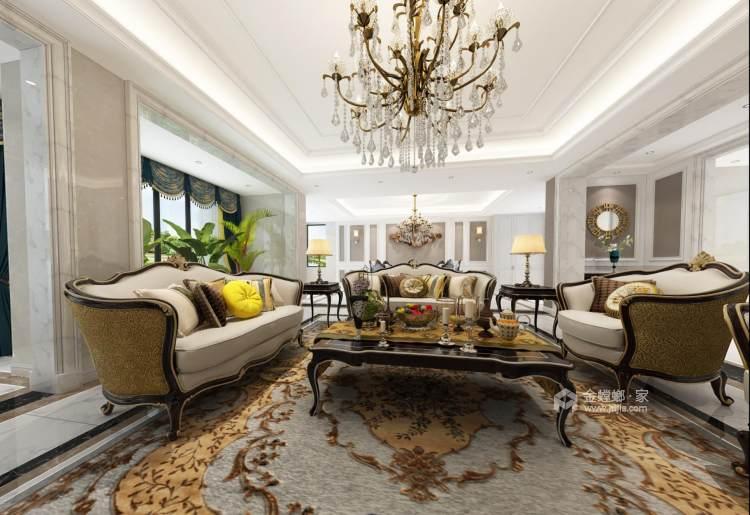 300㎡欧式别墅,低调中的奢华-餐厅效果图及设计说明