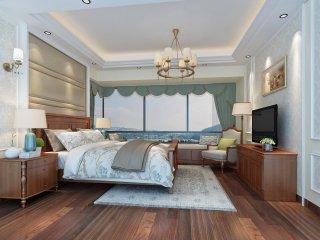 自在不羁的美式小家却彰显格调-紫岭国际小区145平米5室美式装修案例
