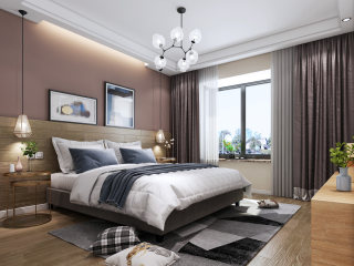 自然而惬意,是享受时光的最好方式-锦绣龙城小区224平米4室北欧装修案例