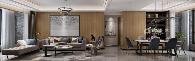 装饰与布置中最大限度体现空间的现代风-客厅效果图及设计说明