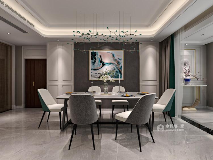 无过多的装饰、推崇科学合理的构造工艺-餐厅效果图及设计说明