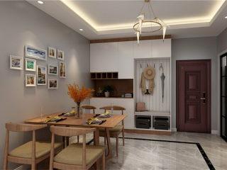 110平舒适北欧风,满足对家的一切幻想-合景峰汇小区110平米3室北欧装修案例