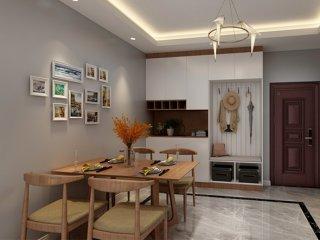 110平北欧风格,简约舒适,自然不做作-合景峰汇小区110平米3室北欧装修案例