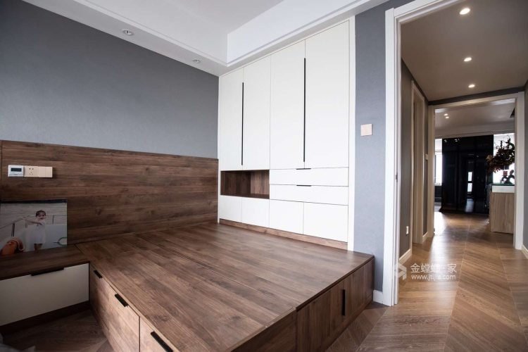 130平现代风,时尚  大气   有品质-卧室
