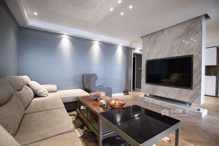 130平现代风,时尚  大气   有品质-客厅效果图及设计说明
