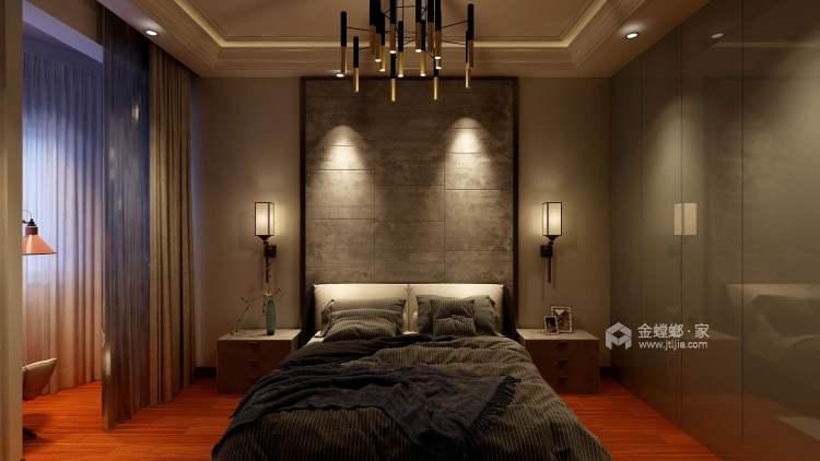 现代轻奢与时尚的结合-卧室效果图及设计说明