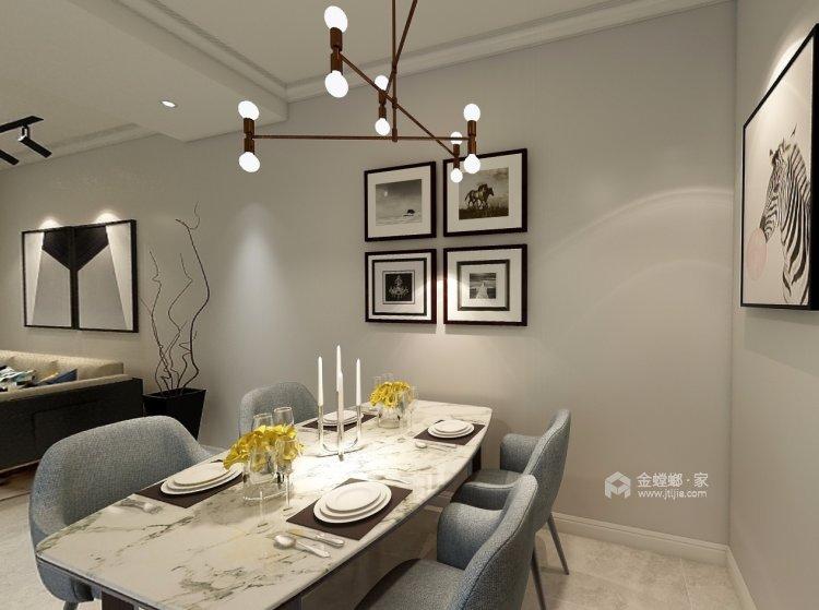 整体家私与风格的感觉延续-餐厅效果图及设计说明