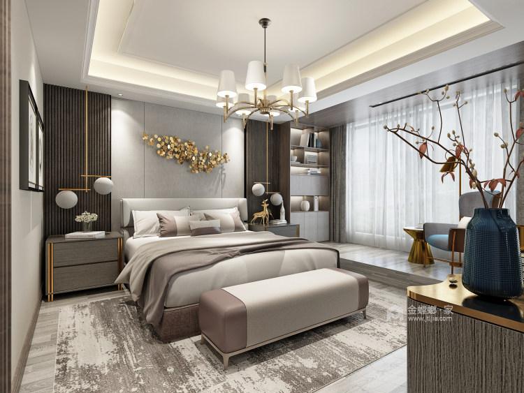 多彩设计,演绎时尚之美-卧室效果图及设计说明