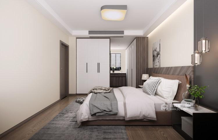 135平极致简奢,演绎品质生活-卧室效果图及设计说明