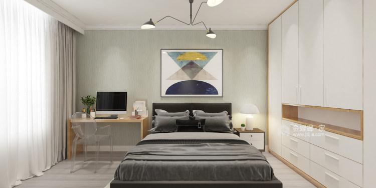 青春洋溢-北欧风-卧室效果图及设计说明