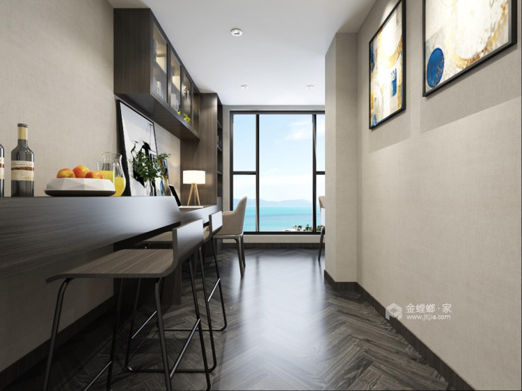 清新素雅现代风-走廊