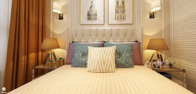 简欧风格-卧室效果图及设计说明
