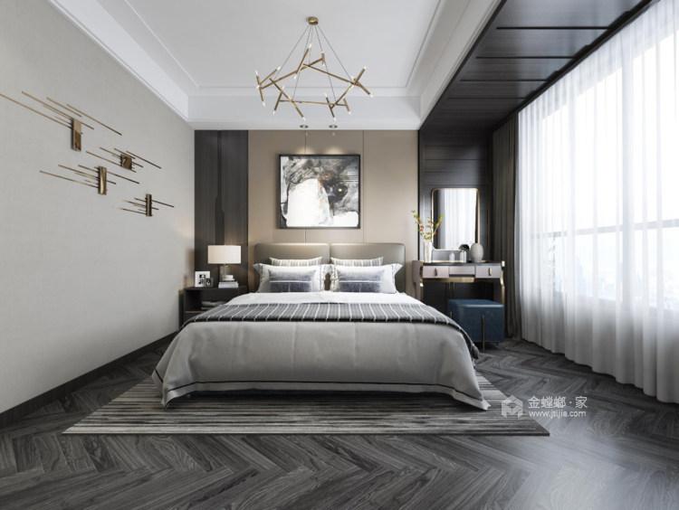 清新素雅现代风-卧室效果图及设计说明