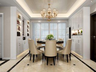 温馨与品质相融合的130平三口幸福之家-时代上城小区130平米3室美式装修案例