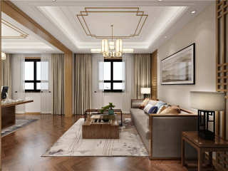 白色与原木完美搭配,打造精致舒适的家