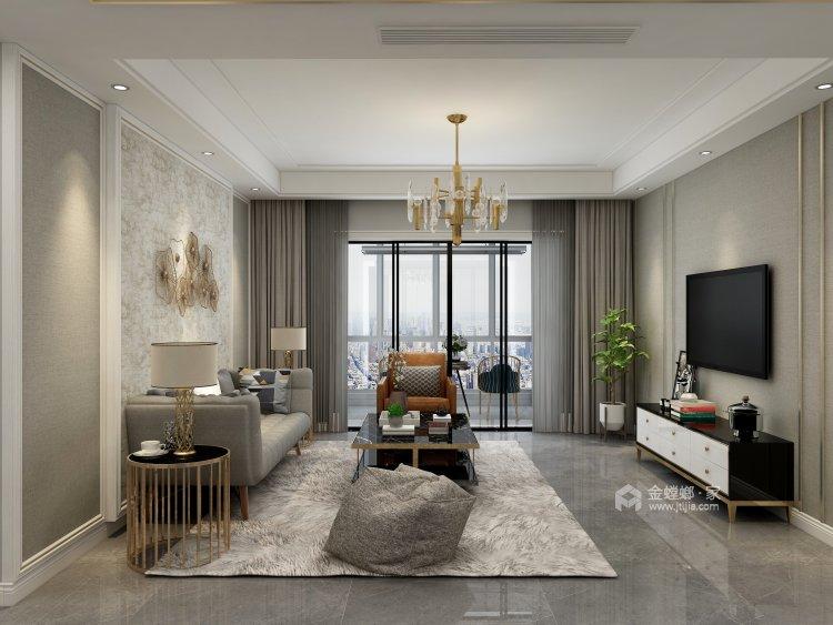 140平轻奢美式空间-空间效果图