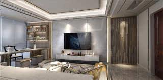这或许就是你要的美式轻奢风-雍锦里小区150平米4室美式装修案例