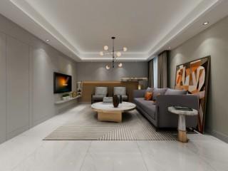 100平小资生活空间现代风格