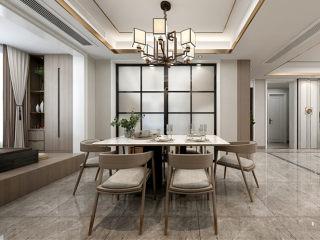 140平禅意中式,品味生活-凤凰汇小区140平米3室新中式装修案例