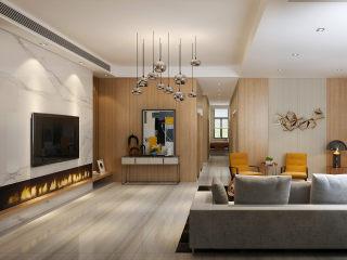 280平米北欧之光,这才是有品位的生活-明德山庄小区280平米别墅北欧装修案例