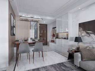 简简单单才是真 89㎡现代三居-新城香悦澜山小区89平米3室现代装修案例