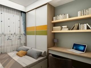 小空间大储物,看设计师的空间魔法-嘉誉山小区99平米3室现代装修案例