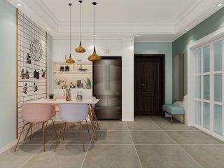 105m²北欧三居设计,这才是温馨舒适家!-中铁世纪金桥小区105平米3室北欧装修案例