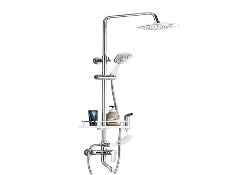 淋浴龙头及各配件安装流程注意事项