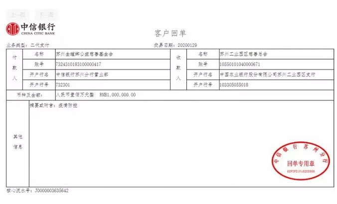金螳螂累计捐款600万元专项用于武汉疫区防治