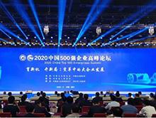 金螳螂蝉联2020中国服务业500强