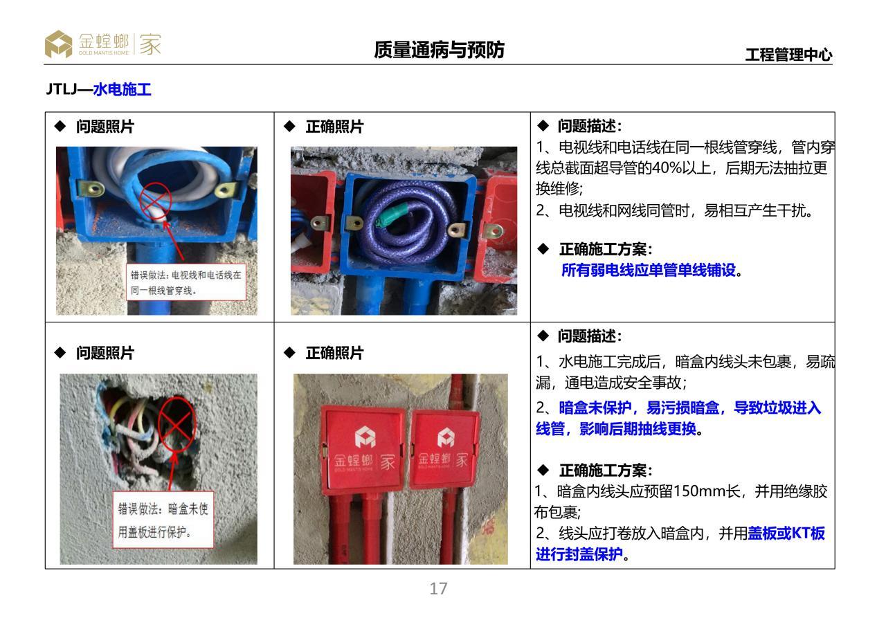 金螳螂·家发布《家装工程质量通病手册》,施工品质再上新台阶!