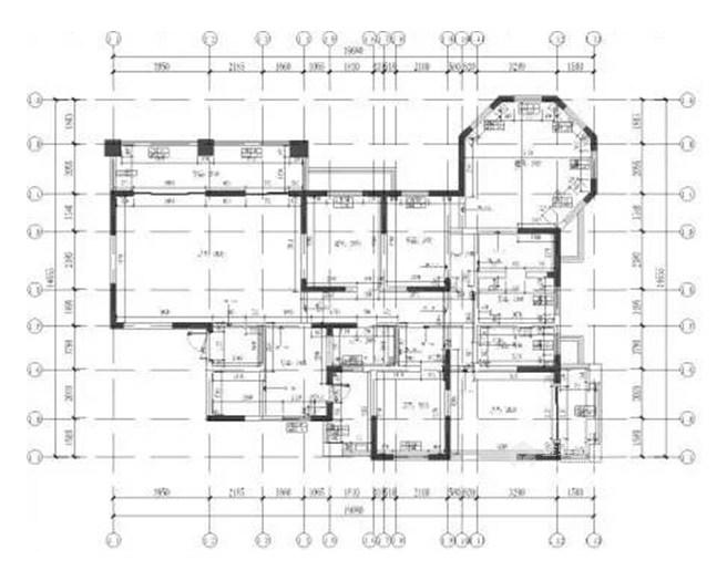 超大空间的时髦简约style-原始户型图